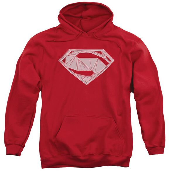 Batman V Superman Techy S Adult Pull Over Hoodie