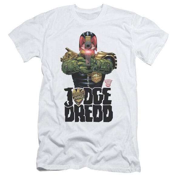Judge Dredd In My Sights Short Sleeve Adult T-Shirt