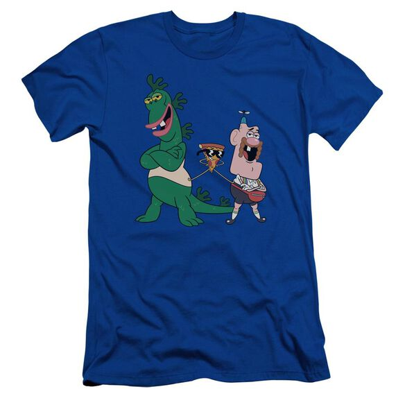 Uncle Grandpa The Guys Short Sleeve Adult Royal T-Shirt