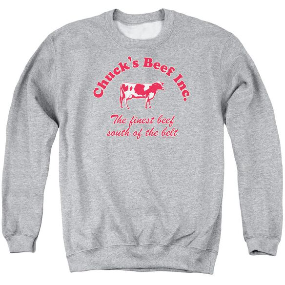 Chucks Beef Adult Crewneck Sweatshirt Athletic
