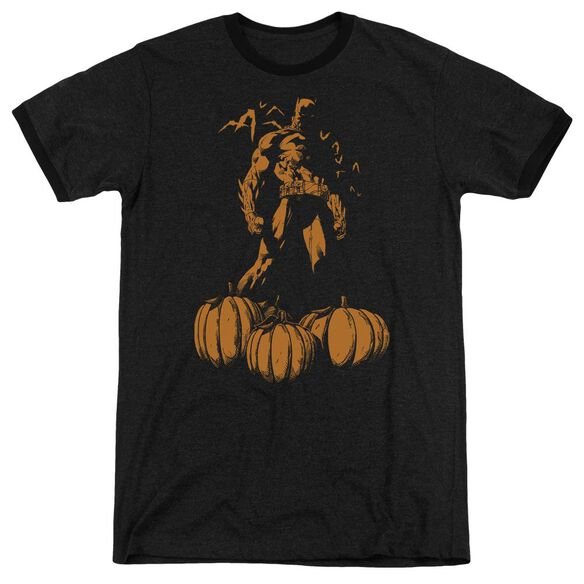 Batman A Bat Among Pumpkins Adult Heather Ringer