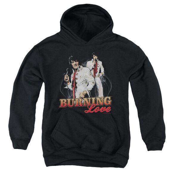Elvis Presley Burning Love Youth Pull Over Hoodie