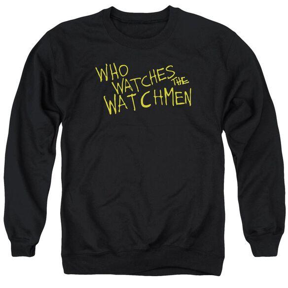 Watchmen Who Watches Adult Crewneck Sweatshirt