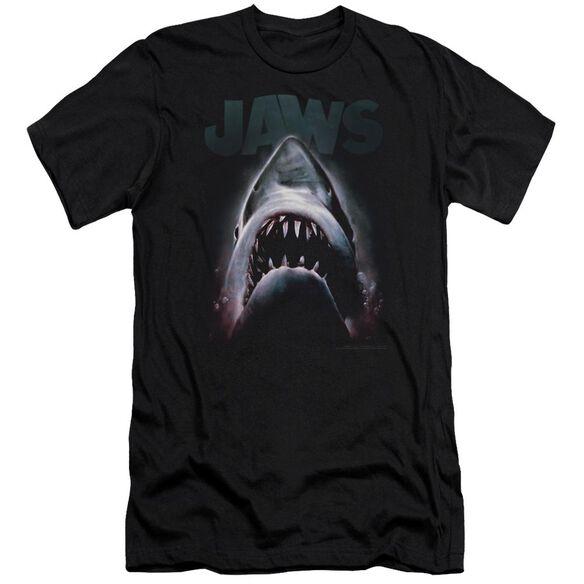 Jaws Terror In The Deep Premuim Canvas Adult Slim Fit