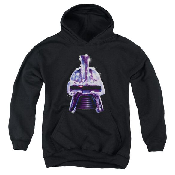 Bsg Retro Cylon Head Youth Pull Over Hoodie