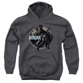 Ninjak Crouching Ninjak Youth Pull Over Hoodie