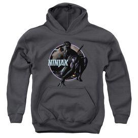 Ninjak Crouching Ninjak Youth Pull Over Hoodie