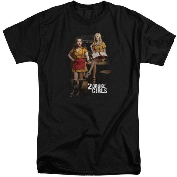 2 Broke Girls Max & Caroline Short Sleeve Adult Tall T-Shirt