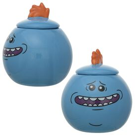 Rick and Morty Mr Meeseeks Ceramic Jar Set