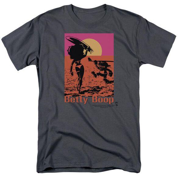 Betty Boop Summer Short Sleeve Adult T-Shirt