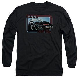 Knight Rider Kitt Long Sleeve Adult T-Shirt