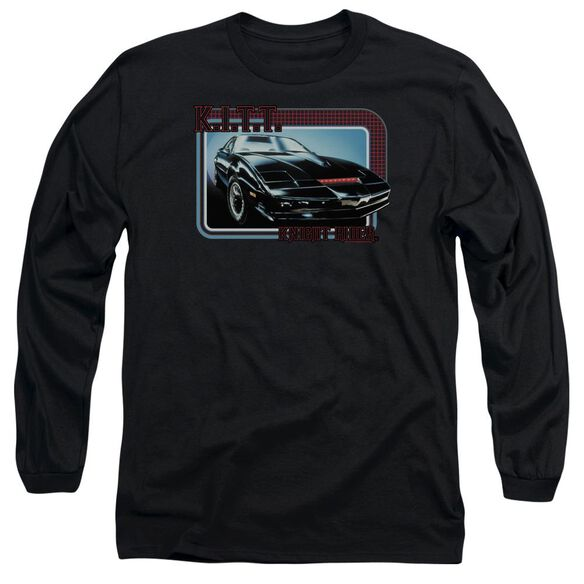 Knight Rider Kitt Long Sleeve Adult T-Shirt