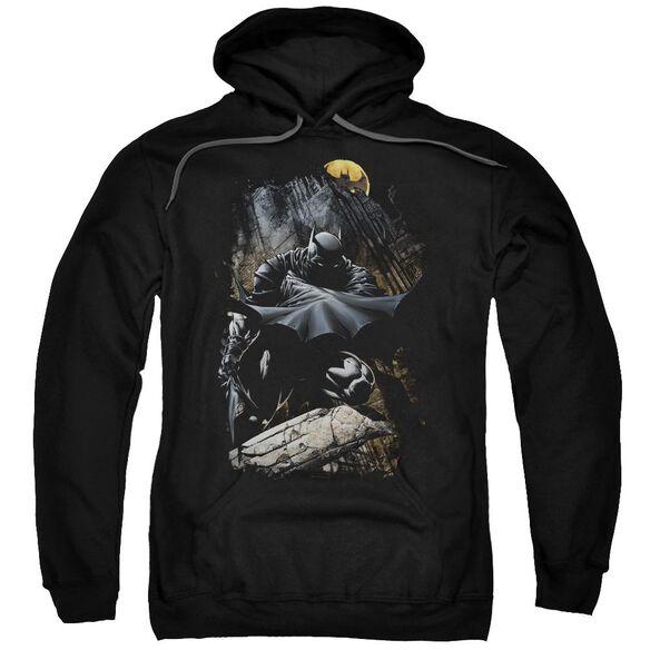 Batman Sweeping Cape Adult Pull Over Hoodie