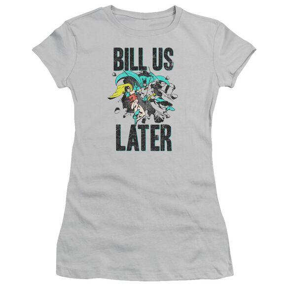 Dco Bill Us Later Short Sleeve Junior Sheer T-Shirt