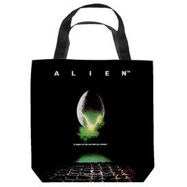 Alien Poster Tote Bag