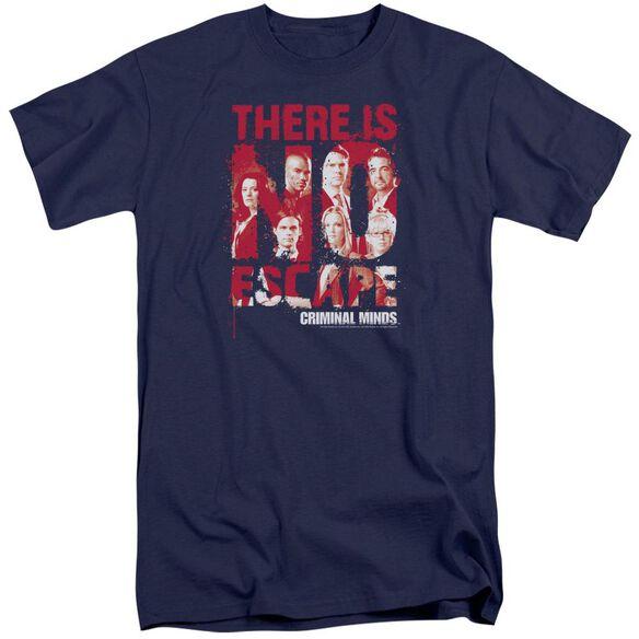Criminal Minds No Escape Short Sleeve Adult Tall T-Shirt