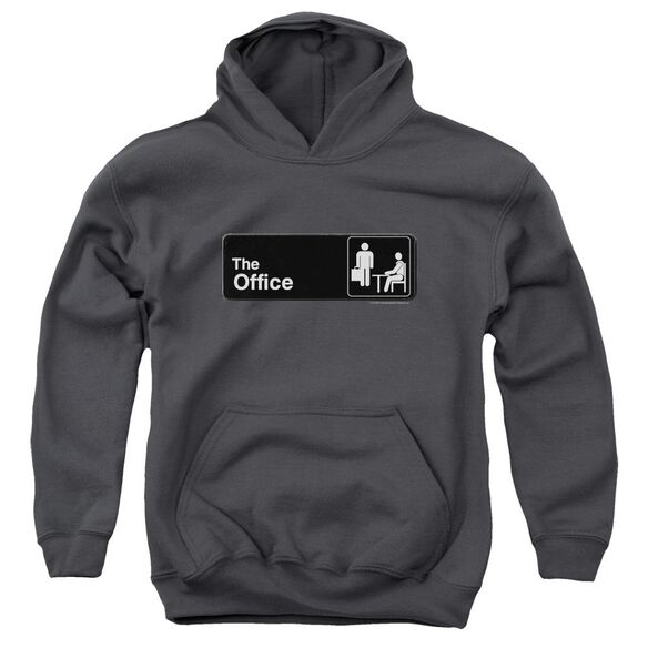 The Office Sign Logo Youth Pull Over Hoodie