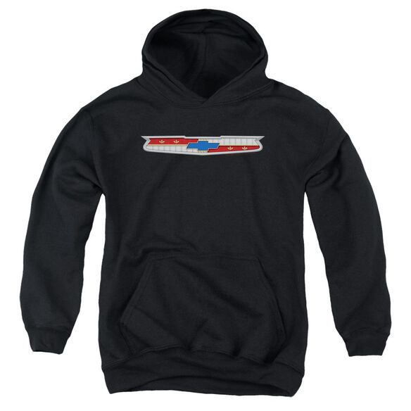 Chevrolet 56 Bel Air Emblem Youth Pull Over Hoodie