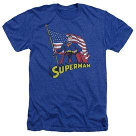 Superman American Flag-adult