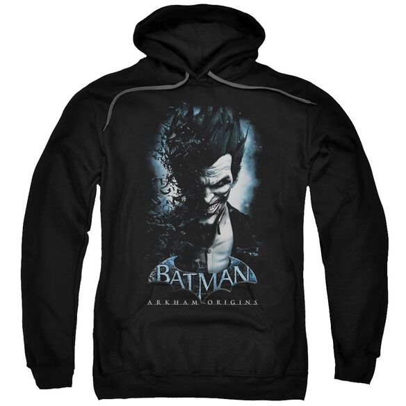 Batman Arkham Origins Joker Adult Pull Over Hoodie