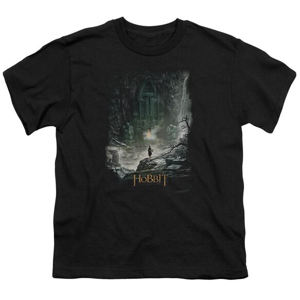 Hobbit At Smaug's Door Short Sleeve Youth T-Shirt