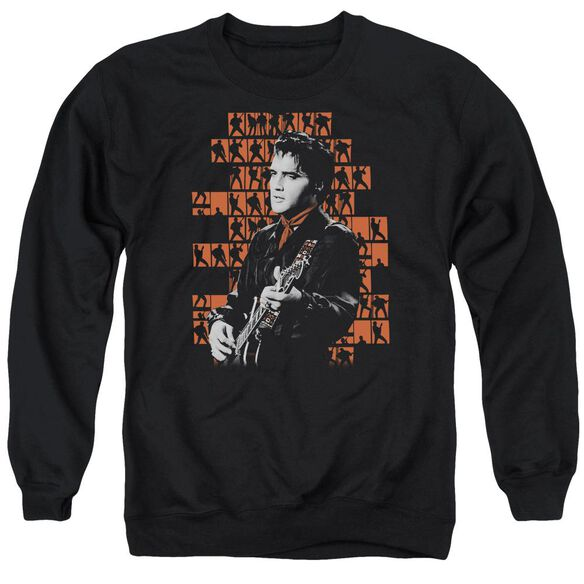 Elvis 1968 Adult Crewneck Sweatshirt