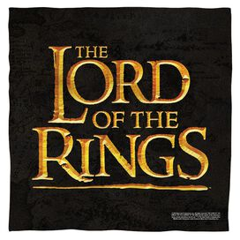 Lord Of The Rings Lor Logo Bandana