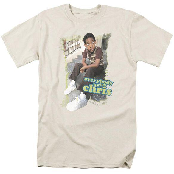 Ehc Everybody Hates Chris Short Sleeve Adult Cream T-Shirt