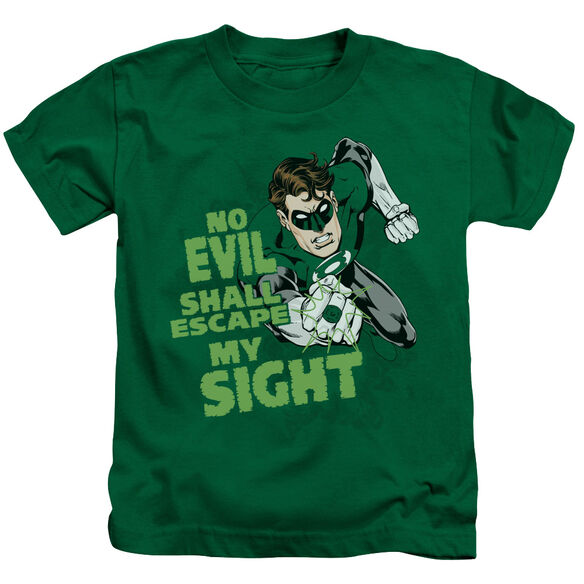 GREEN LANTERN NO EVIL - S/S JUVENILE 18/1 - KELLY GREEN - T-Shirt