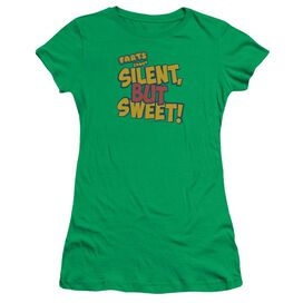 Farts Candy Silent But Sweet Short Sleeve Junior Sheer Kelly T-Shirt