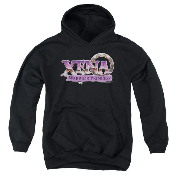 Xena Logo Youth Pull Over Hoodie