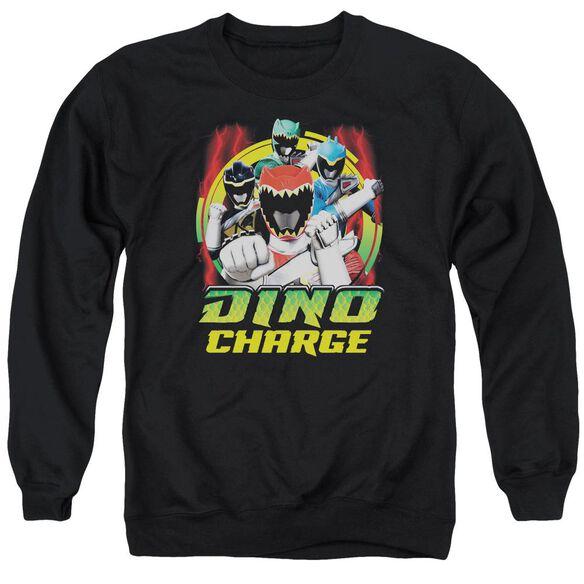 Power Rangers Dino Lightning Adult Crewneck Sweatshirt