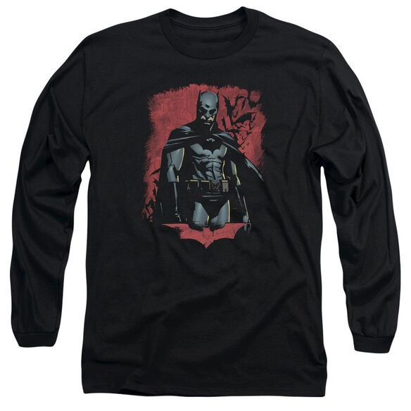 Batman Begins Dead Town Long Sleeve Adult T-Shirt