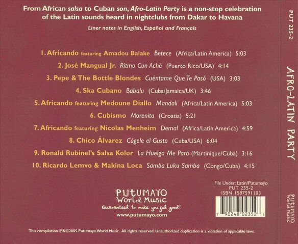 Afro Latin Party 0305