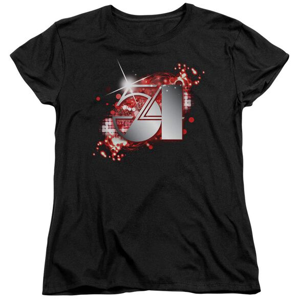Studio 54 54 Logo Short Sleeve Womens Tee T-Shirt