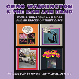 Geno Washington & the Ram Jam Band - Hand Clappin' Foot Stompin' Funky-Butt... Live! / Shake A Tail Feather/ Hipsters, Flipsters, Finger-Poppin' Daddies! / Running Wild Plus A &B Sides & EP Tracks