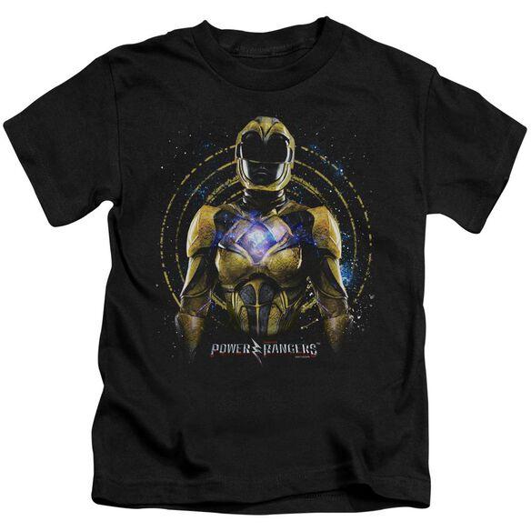 Power Rangers Yellow Ranger Short Sleeve Juvenile T-Shirt