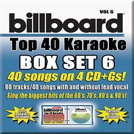 Party Tyme Karaoke - Party Tyme Karaoke: Billboard Top 40 Karaoke, Vol. 6