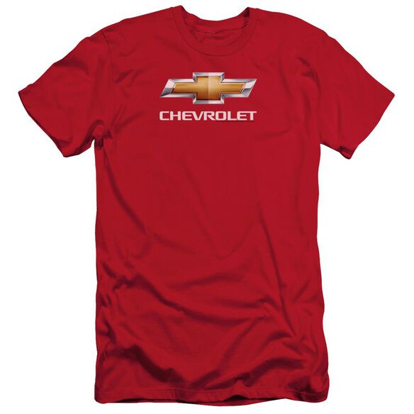 Chevrolet Chevy Bowtie Stacked Short Sleeve Adult T-Shirt