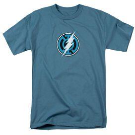 GREEN LANTERN BLUE LANTERN FLASH - S/S ADULT 18/1 - SLATE T-Shirt