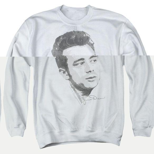 Dean Vintage Face Adult Crewneck Sweatshirt
