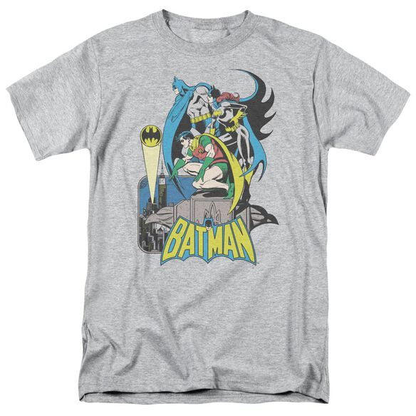 Dc Heroic Trio Short Sleeve Adult Athletic T-Shirt