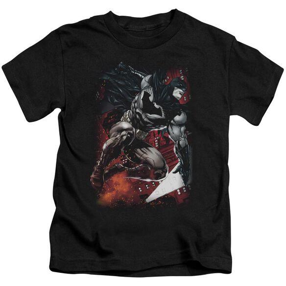 Batman Sparks Leap Short Sleeve Juvenile T-Shirt