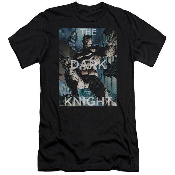 Batman Fighting The Storm Short Sleeve Adult T-Shirt