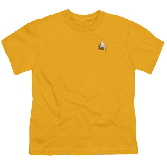 Star Trek Tng Engineering Emblem Short Sleeve Youth T-Shirt