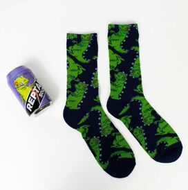 Reptar Socks in a Can [1 pair]