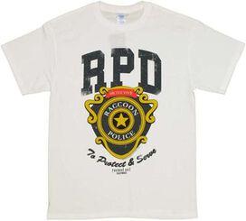 Resident Evil RPD Badge T-Shirt