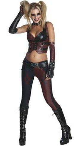Harley Quinn Arkham City Adult Costume