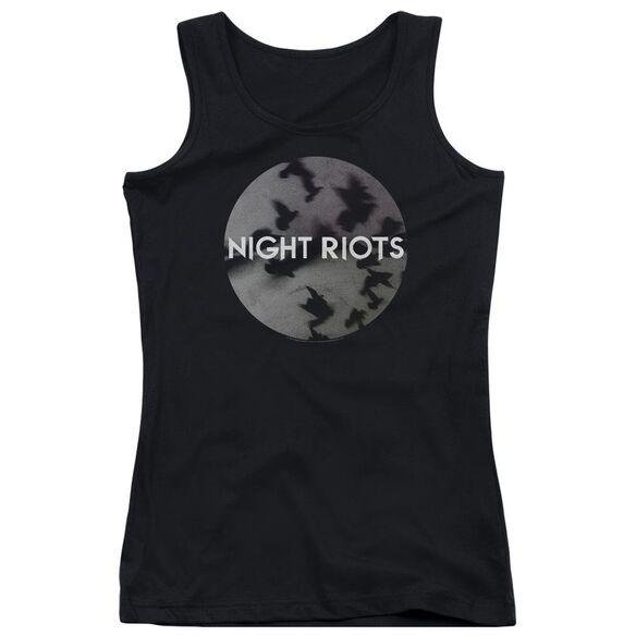 Night Riots Flock Juniors Tank Top