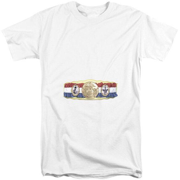 Rocky Championship Belt(Bottom Front) Short Sleeve Adult Tall T-Shirt